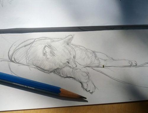 Monday Morning Pet Sketching