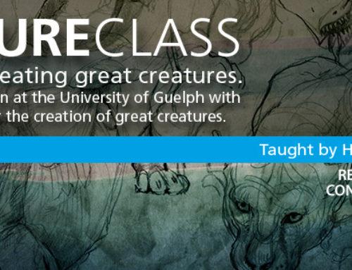 Creature Class Workshop this June.