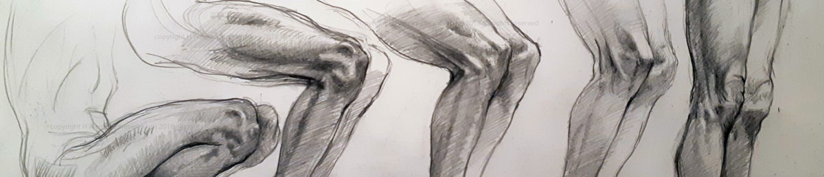 detail of knee sequence